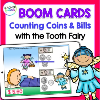 Boom Cards Math COUNTING DOLLAR BILLS & COINS