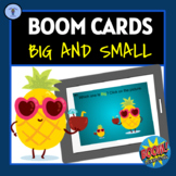 BOOM CARDS: MEASUREMENT BIG AND SMALL DIGITAL TASK CARDS