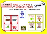 BOOM CARDS!  MY FIRST READING COMPREHENSION ACTIVITY- STEP 1.3 -  ELL