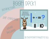 BOOM CARDS - Making Teen Numbers using Base Ten Blocks