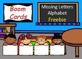BOOM CARDS - Missing Letters (Alphabet) FREEBIE