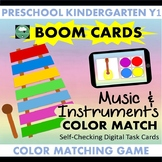 BOOM CARDS™ Music Color Matching