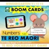 BOOM CARDS™ Numbers 1-20 Game in TE REO MAORI