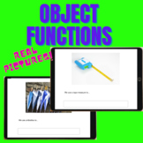 BOOM CARDS:  Object Function / Define Words by Function