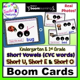 BOOM CARDS SPELLING and READING CVC WORDS