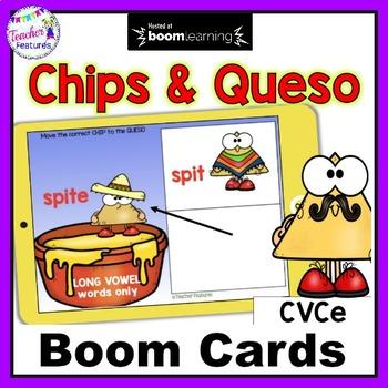 BOOM CARDS PHONICS   Long Vowels   CVCe Word Sort   Cinco de Mayo Activities
