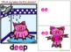 BOOM CARDS PHONICS | Vowel Teams | EA / EE | Long Vowels | MUDDY PIGS