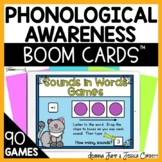 BOOM CARDS™ PHONOLOGICAL AWARENESS  ACTIVITIES HUGE DISCOUNT!!
