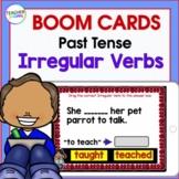 BOOM CARDS ELA | GRAMMAR Activities | 3rd Grade | Past Tense & Irregular Verbs