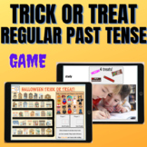BOOM CARDS: Past Tense -ed - Halloween Trick or Treat REAL PICTURES!