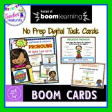 BOOM CARDS ELA and GRAMMAR Personal & Reflexive Pronouns for 2nd Grade