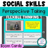 Perspective Taking 1 Social Skills Flexible Thinking Speech Therapy Boom Cards
