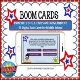 BOOM CARDS - Principles of U.S. Civics and Government | Mi