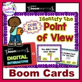 Boom Cards Digital Reading Comprehension | Identifying the Point Of View
