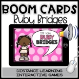 BOOM CARDS RUBY BRIDGES STORY:Reading&comprehension activities-Women's Day