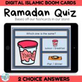 BOOM CARDS Ramadan Activity Quiz