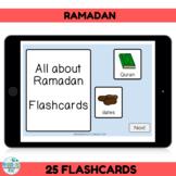 BOOM CARDS Ramadan Activity Flashcards
