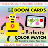 BOOM CARDS™ Robots Color Matching