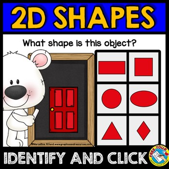 BOOM CARDS SHAPES DIGITAL CENTERS (REAL LIFE SHAPES KINDERGARTEN ACTIVITIES)