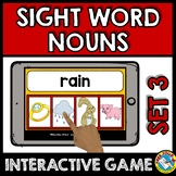 BOOM CARDS SIGHT WORDS GAME (DOLCH NOUNS) SEPTEMBER ACTIVI