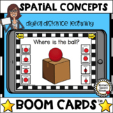 BOOM CARDS™ SPATIAL CONCEPTS EARLY VOCABULARY distance lea