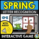 SPRING ACTIVITY KINDERGARTEN (LETTER RECOGNITION GAME WITH AUDIO)