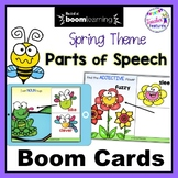 BOOM CARDS ADJECTIVES and PARTS OF SPEECH Digital Task Cards