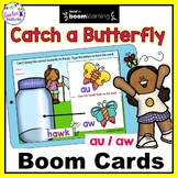 BOOM CARDS PHONICS Vowel Teams and Diphthongs AU / AW Long Vowels