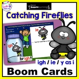 BOOM CARDS PHONICS Long Vowels Vowel Teams and Diphthongs IGH / IE / Y as i