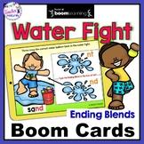 BOOM CARDS SUMMER | Part 1 | Ending Blends | Ending Blends Activities