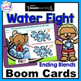 BOOM CARDS SUMMER |  Part 2 | Ending Blends Activities | Boom Cards Spelling