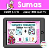 BOOM CARDS San Valentín Sumas