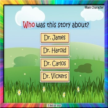 BOOM CARDS Sequencing and Story Retell Evergreen Part 3 - Teletherapy