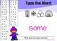 BOOM CARDS Sight Words & HFW SECRET CODE Winter Theme #2