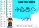 BOOM CARDS Sight Words & HFW SECRET CODE Winter Theme #3