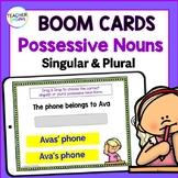 BOOM CARDS ELA | Grammar | 3rd GRADE | Singular & Plural Possessive Nouns