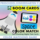 BOOM CARDS™ Space Color Matching