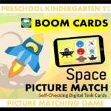 BOOM CARDS™ Space Picture Matching