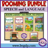 BOOM CARDS Speech Language and Literacy MEGA BUNDLE  NO PR