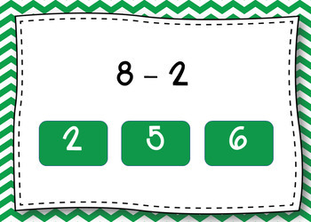 BOOM CARDS - Subtracting within 10