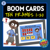 BOOM CARDS: TEN FRAMES DIGITAL TASK ACTIVITIES