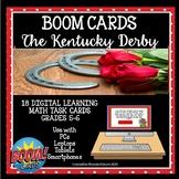 BOOM CARDS - The Kentucky Derby Math Grades 5-6