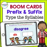 Boom Cards ELA | Digital Task Cards | PREFIXES and SUFFIXES