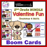 BOOM CARDS VALENTINE'S DAY 2nd Grade Bundle