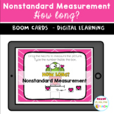 BOOM CARDS Valentine's Day Nonstandard Measurement HOW LONG?
