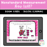 BOOM CARDS Valentine's Day Nonstardard Measurement HOW TALL?