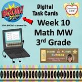 BOOM CARDS - Week 10 Spiral Review Math Morning Work - 3rd Grade