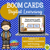 BOOM CARDS Westward Expansion Middle School