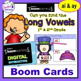BOOM CARDS WINTER AI / AY Long Vowels & Vowel Teams- PENGUINS