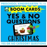 BOOM CARDS™ Yes or No Questions CHRISTMAS